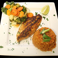 Blackened Seafood Plate