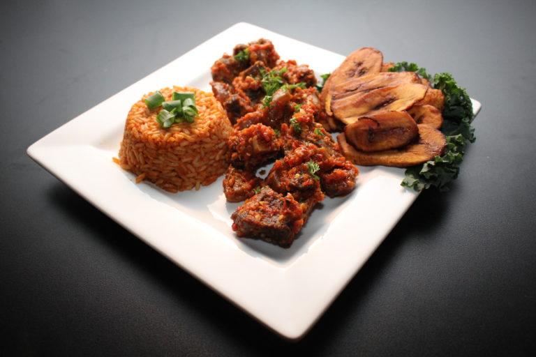 Jollof Rice Plate